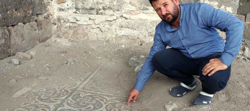 11 Yıl Önce Bulunan Roma Dönemine Ait Mozaik, Turizme Kazandırılacak