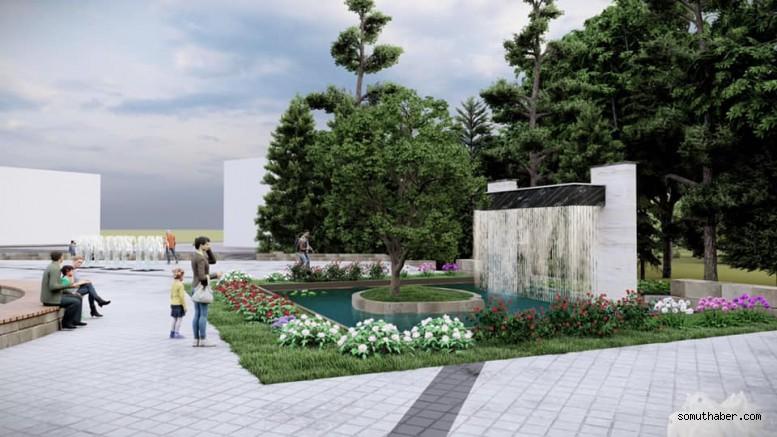 15 Temmuz Şehitler Parkı İlçemizin Yeni Yaşam Alanı Olacak