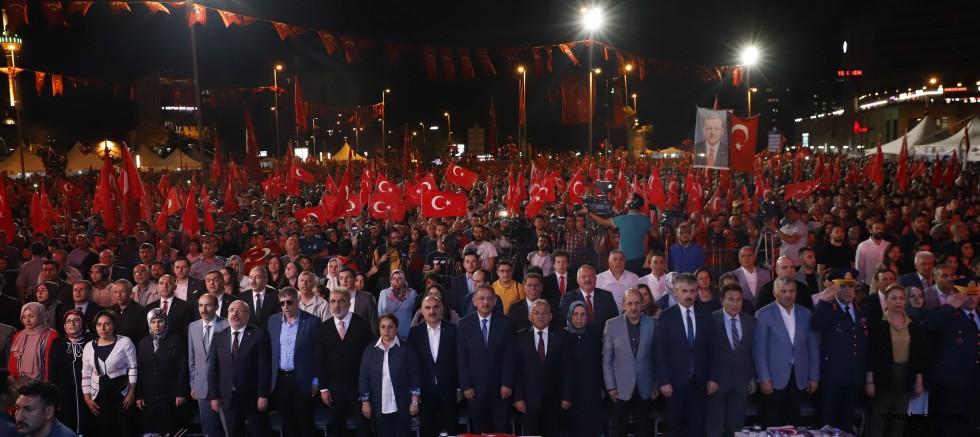 15 Temmuz'un 3'ncü Yılında Kayseri