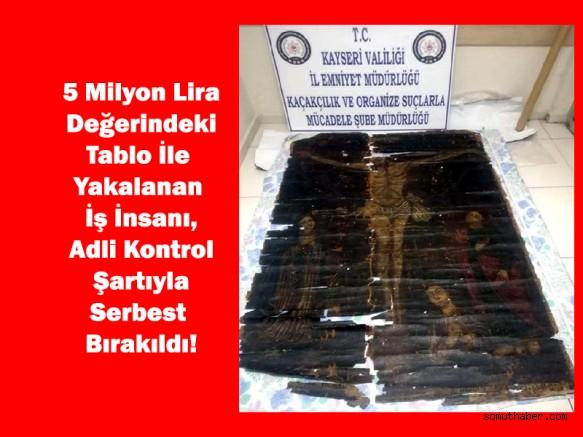 5 Milyonluk Tarihi Eserle Yakalandı, Serbest Kaldı!