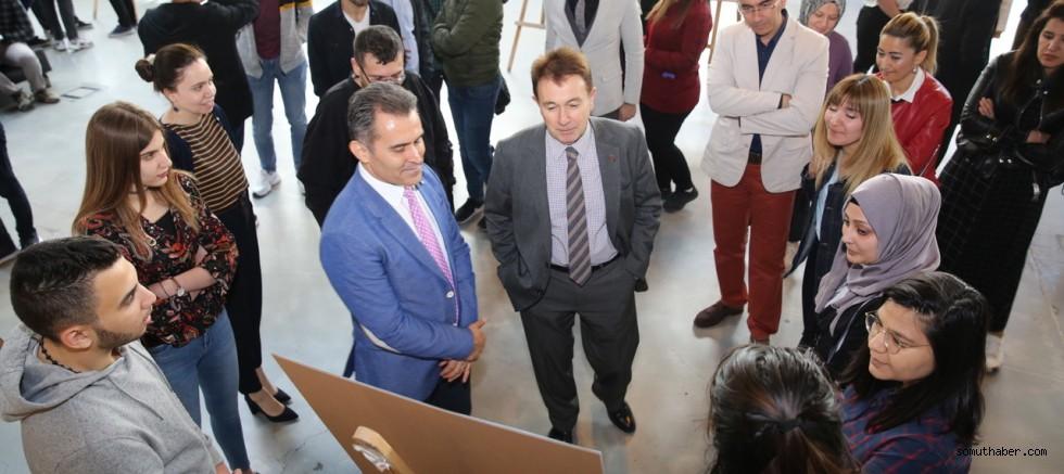 AGÜ'de Sanayi Odaklı Öğrenci Projeleri Fuarı