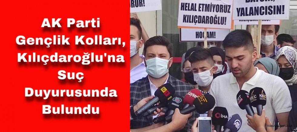 Ak Parti Gençlik Kolları Kılıçdaroğlu'na Dava Açtı