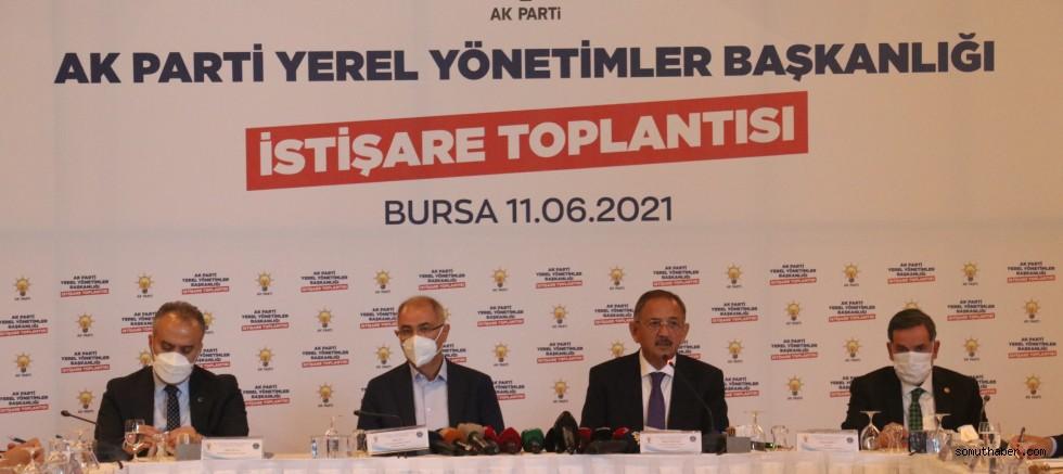 AK Parti Yerel Yönetimler Başkanlığı'ndan Bursa'da İstişare Toplantısı