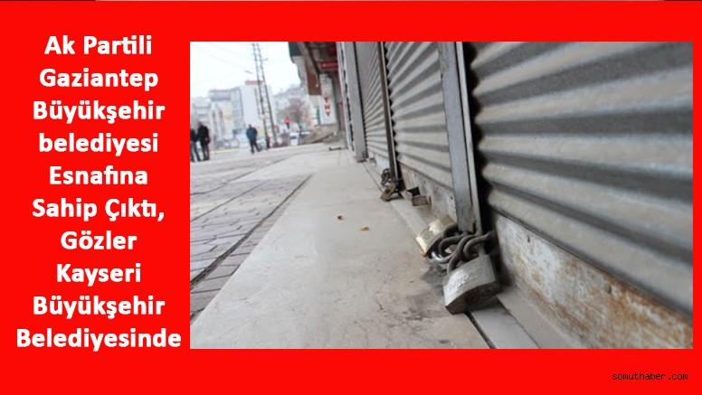 Ak Partili Gaziantep Büyükşehir Belediyesi Esnafı Destekliyor, Gözler KBB'de