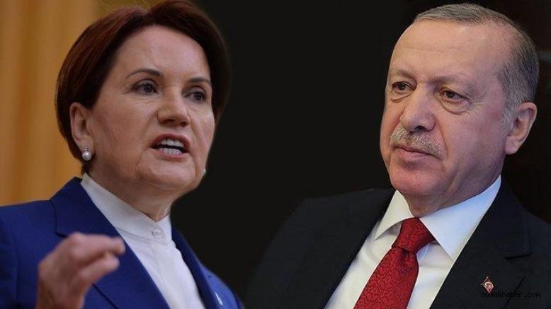 """Akşener'den Erdoğan'a: """"Küçük Ortağın Gazına Gelip Bildiriyi Yazanlara Abuk Sabuk Cezalar 'Verdirmeye' Kalkma"""""""
