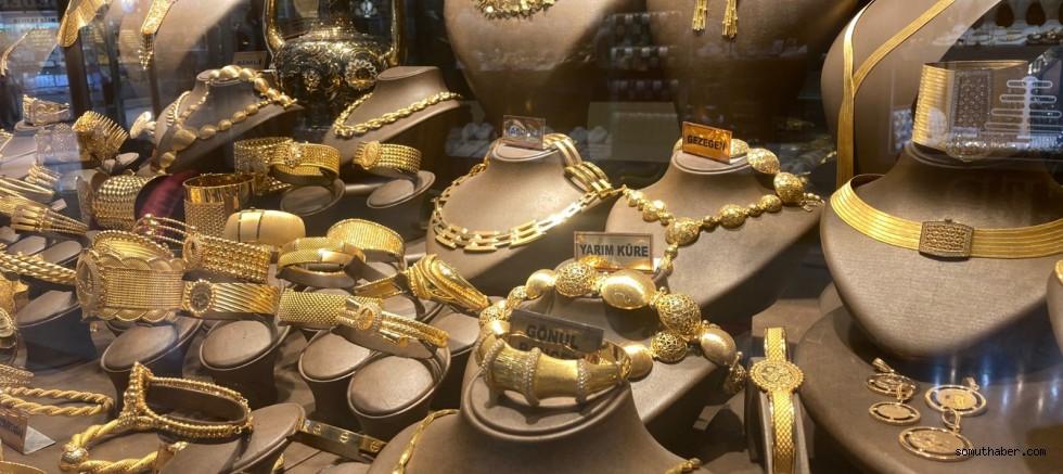 Altın Fiyatları Normal Seyirde Gidiyor
