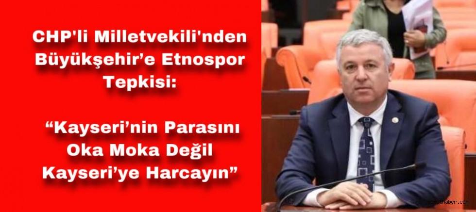 Arık'tan Kayseri Büyükşehir Belediyesi'ne Bilal Erdoğan Tepkisi