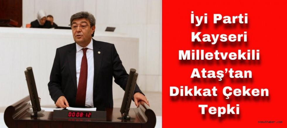 """Ataş: """"AKP Kamu Gücünü Parti Menfaati İçin Kullanıyor"""""""