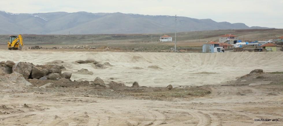 Ayvazhacı-Çöten-Kızık Mahallelerinde Gölet Yapım Çalışmaları Devam Ediyor