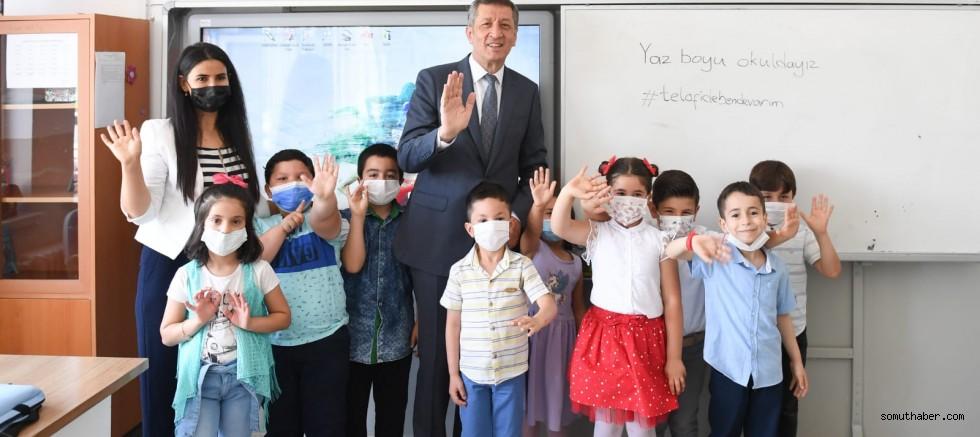 Bakan Selçuk: Eylül Ayında Yüz Yüze Eğitime Başlıyoruz