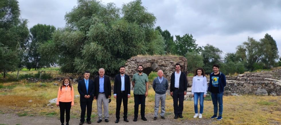 Bakanlık Yetkilileri Kayseri'deki Kültür Varlıklarını İnceliyor