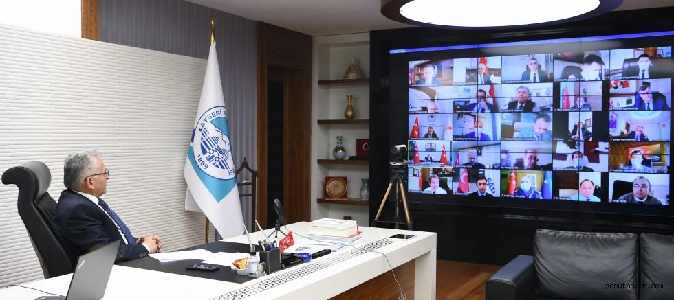 Başkan Büyükkılıç, İl Pandemi Kurulu Toplantısı'na Katıldı