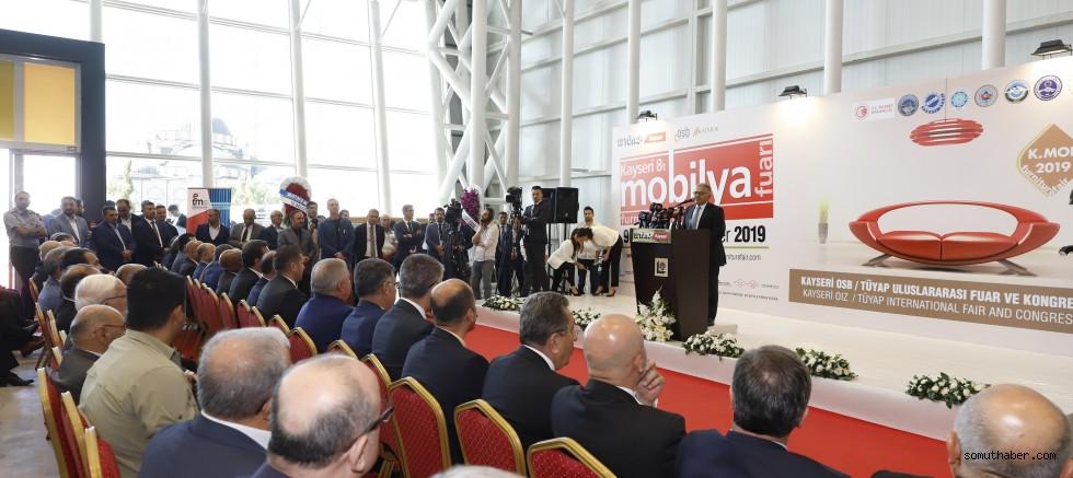 Başkan Büyükkılıç: Kayseri Mobilyanın Başkentidir