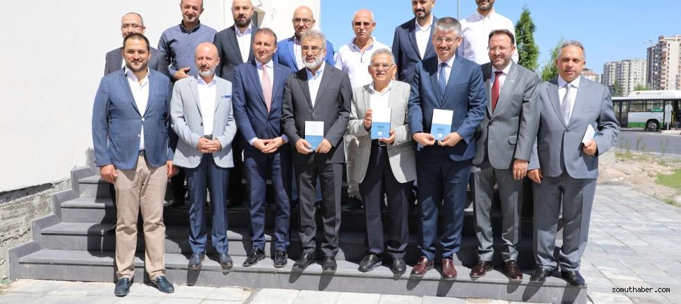Başkan Büyükkılıç'tan MÜSİAD'a Bayram Ziyareti