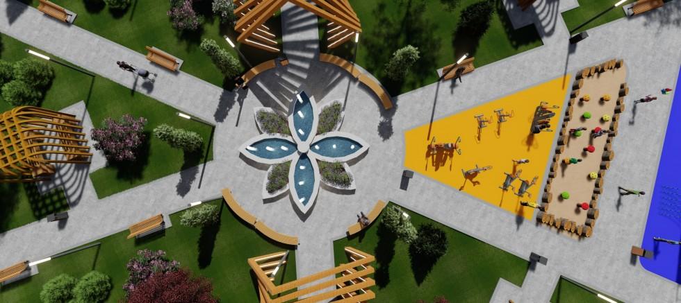 Başkan Çolakbayrakdar'dan Çocuklara Çok Fonksiyonlu Farklı Bir Park
