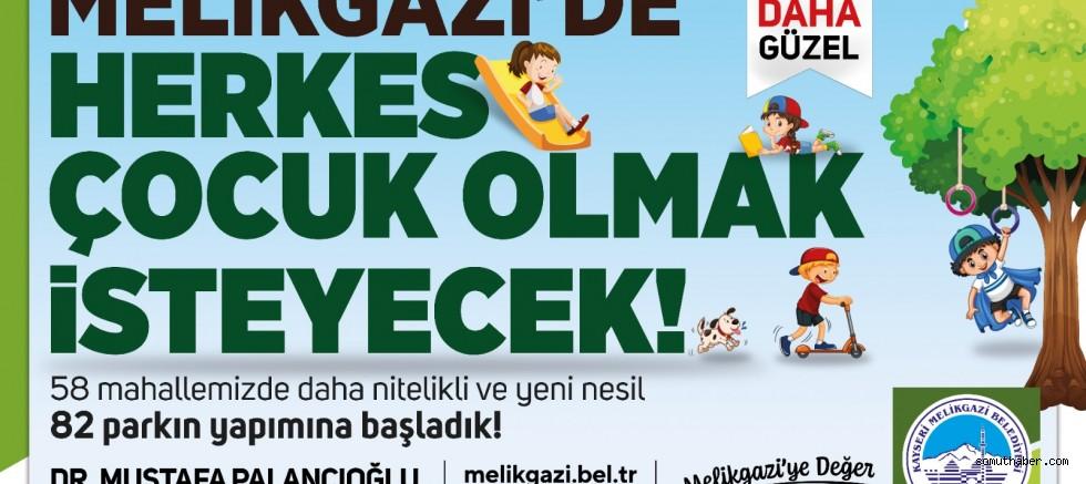 """Başkan Palancıoğlu;  """"58 Park Diye Başladık, 80'e Ulaştık"""""""