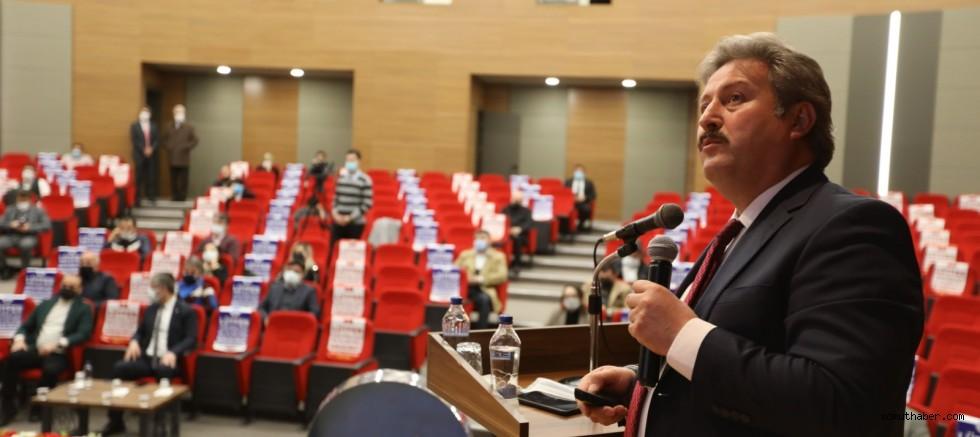 Başkan Palancıoğlu, Melikgazi Yönetim Kuruluna 2020 Yılı Hizmetlerini Anlattı