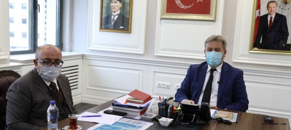 Başkan Palancıoğlu, Veli Alntınkaya İçin Başsağlığı Diledi