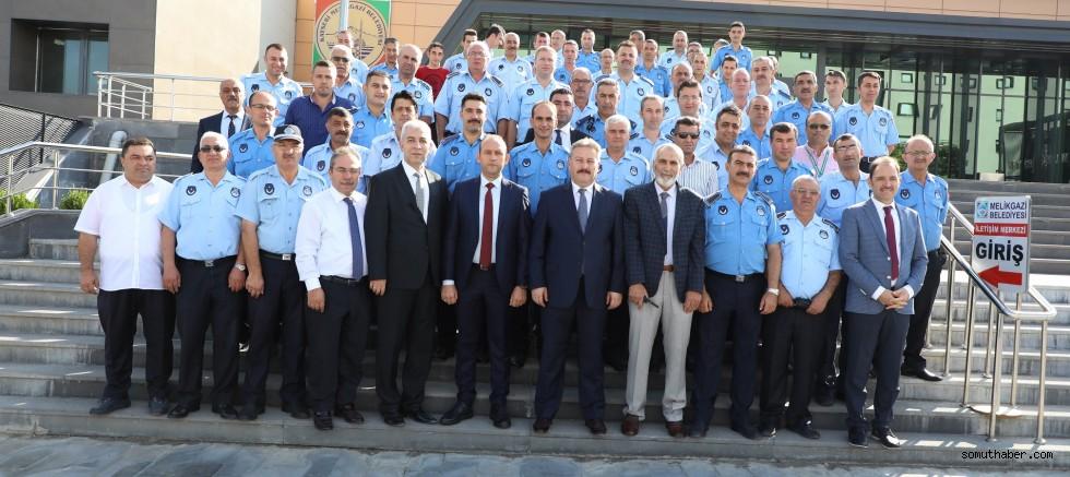 Başkan Palancıoğlu Zabıta İle Bir Araya Geldi