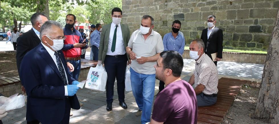 Başkan ve Ak Parti'den Bayram Ziyareti