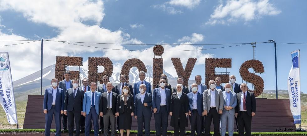 Başkanlar, Kadim Kent Kayseri'ye Hayran Kaldı