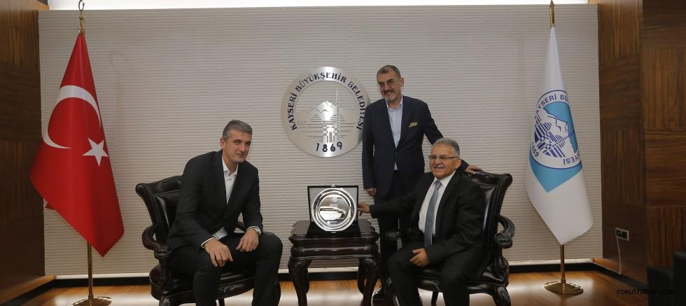 Basketbol Federasyonu'ndan Başkan Büyükkılıç'a Teşekkür
