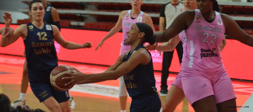 Bellona Kayseri Basketbol - Fenerbahçe Öznur Kablo: 50-71