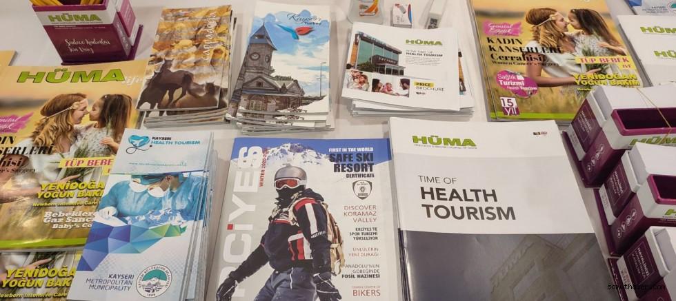 Bosna'daki Sağlık Fuarında Kayseri Rüzgarı