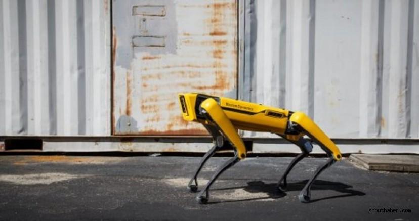 Boston Dynamics'in Robot Köpeği Fabrikada Çalışacak