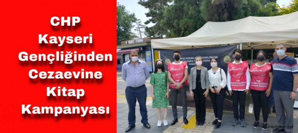 CHP Kayseri Gençliğinden Cezaevine Kitap Kampanyası