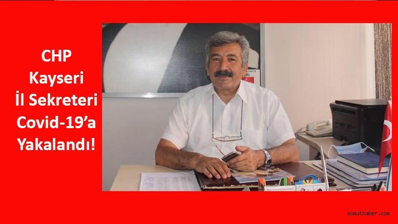 CHP Kayseri İl Başkanlığında Covid-19 Paniği