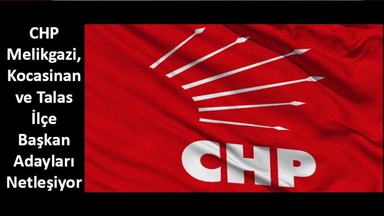 CHP Kayseri Merkez İlçelerinde Adaylar Netleşiyor