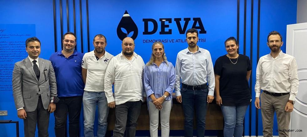 CHP'lilerden Deva Partisi Melikgazi İlçe Başkanlığına Ziyaret
