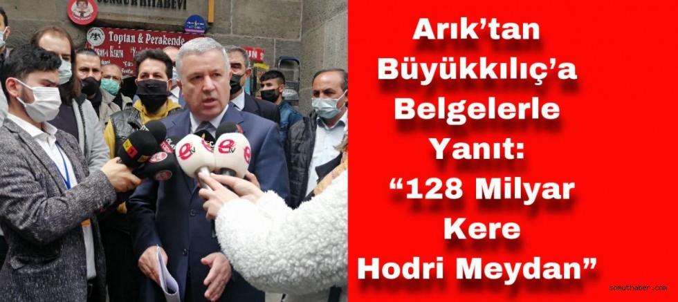 """CHP Milletvekili Arık: """"Gelin İstendiğiniz Televizyonda Tartışalım"""""""