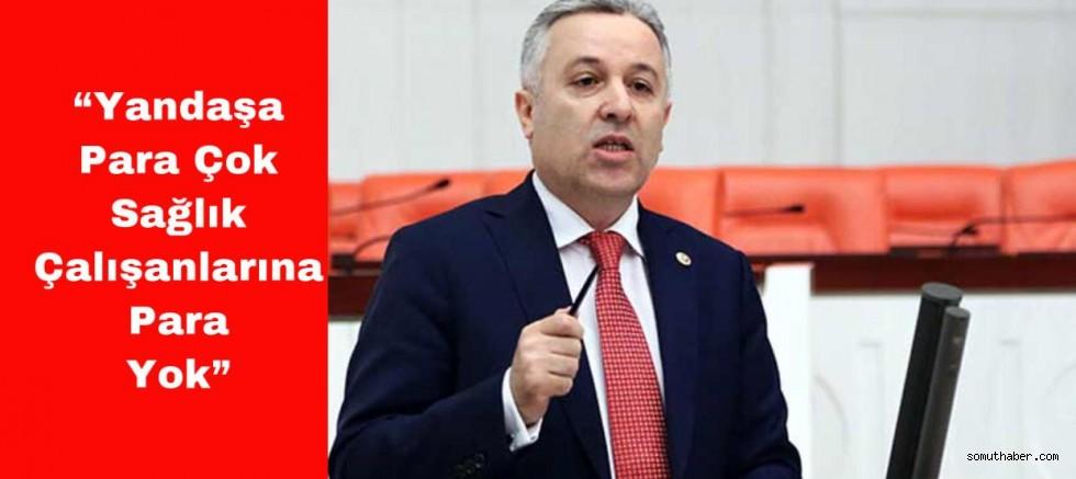 CHP Milletvekili Arık Sağlık Çalışanlarının Ödenmeyen Ek Ödemelerini Gündeme Taşıdı