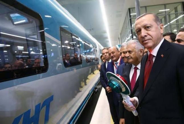 Cumhurbaşkanı Erdoğan: Hızlı Tren Kayseri'ye Uzanacak