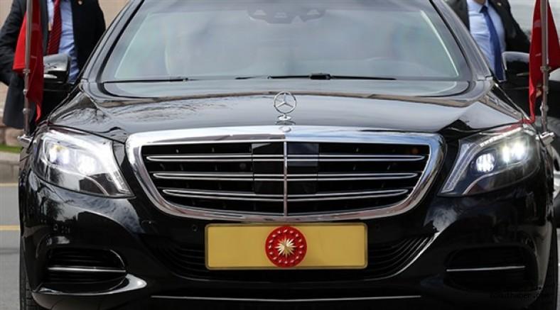 Cumhurbaşkanı'nın Konvoyuna 4 Yeni Zırhlı Mercedes!