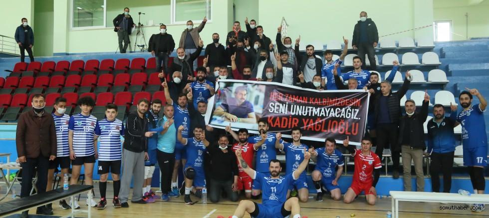 Develi Belediyesi Voleybol Takımı Bitime Bir Hafta Kala Playoff'u Garantiledi