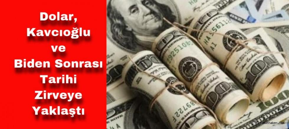 Dolar, Yeni Haftaya Tarihi Zirvenin Hemen Altında Başladı