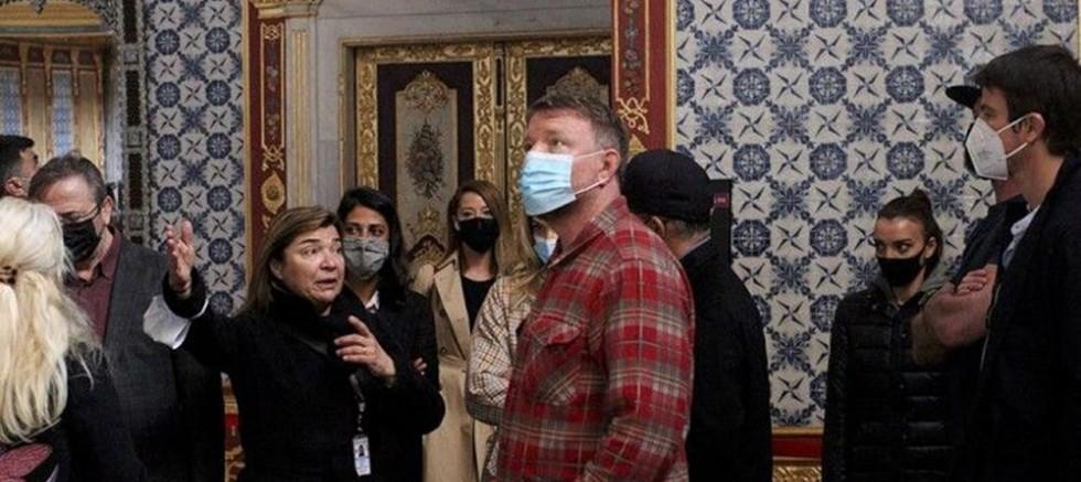 Dünyaca Ünlü Yönetmen Ayasofya ve Topkapı Sarayı'nda