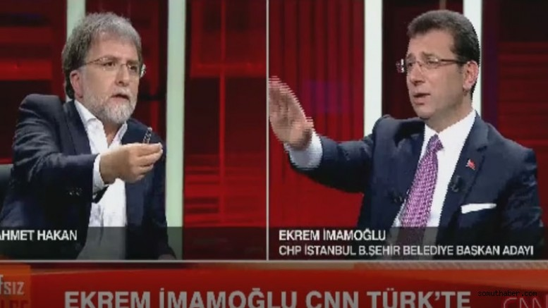 Ekrem İmamoğlu, Ahmet Hakan Programını Anlattı