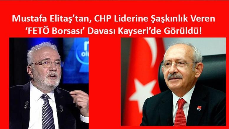 Elitaş'ın CHP Liderine 'FETÖ Borsası' Sözlerinden Açtığı Dava Ertelendi