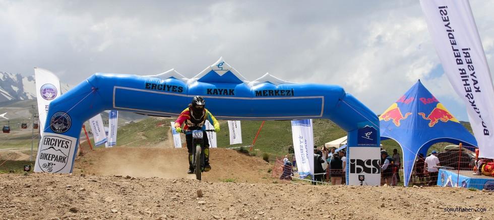 Erciyes'te Bisiklet Avrupa Kupası Şampiyonası
