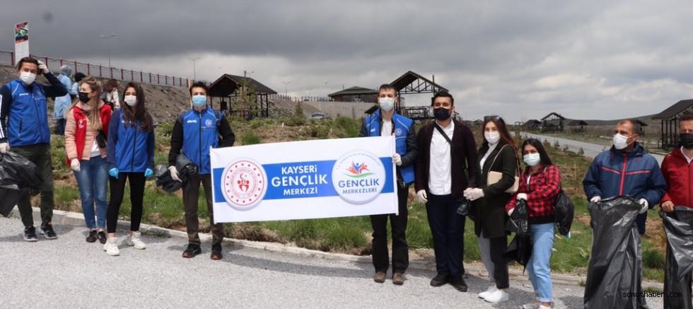 Erciyes'te Çöp Toplama Etkinliği