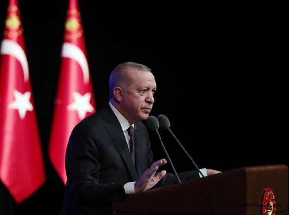 """Erdoğan: """"Tüm Bütçelerde Aslan Payını Eğitim-Öğretime Ayırdık"""""""