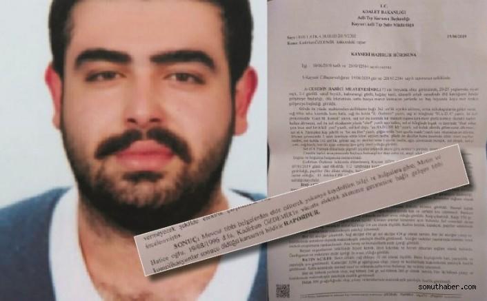 ERÜ'de İş Cinayeti Raporla Doğrulandı
