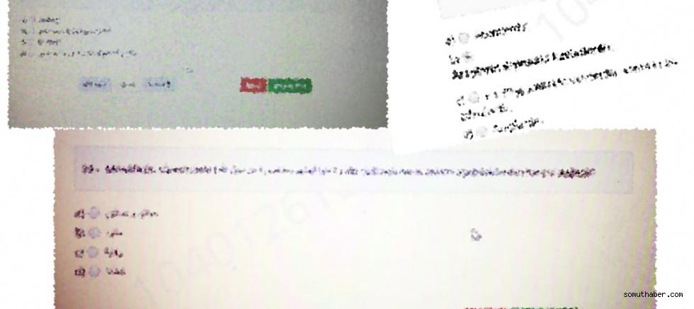 ERÜ'de öğrencilerin online sınavlarda 'hatalı soru' isyanı!