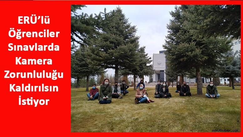 ERÜ Öğrencileri Rektör Yardımcısı ile Görüştü: Mağduriyetimiz Giderilsin