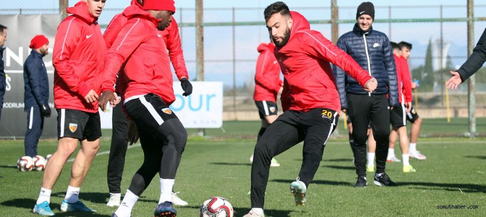 Fenerbahçe maçı hazırlıkları tamamlandı
