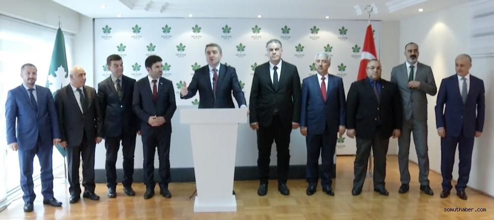 Gelecek Partisi Kayseri Kurucu İl Başkanı belli oldu